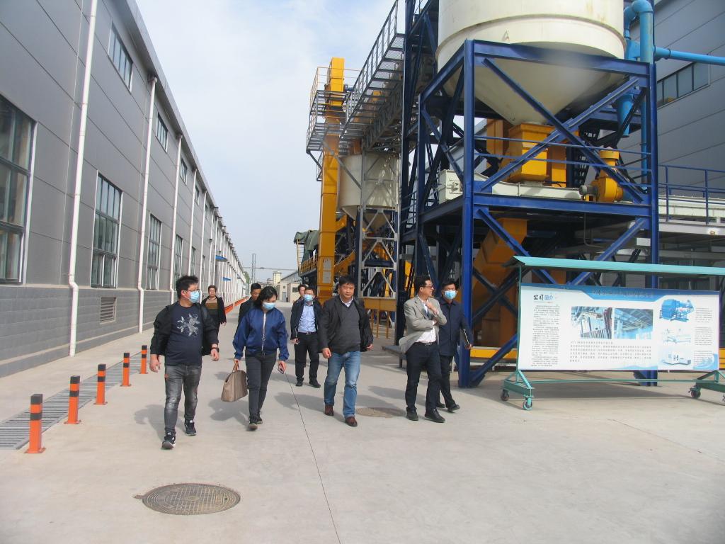 布勒集团领导带队参观考察 河南金谷获得行业更多肯定