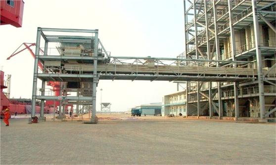 嘉吉阳江港粮油码头工程
