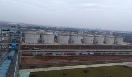 中储粮油脂成都大豆散料输送工程