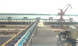 广州植之元大豆散料输送系统工程